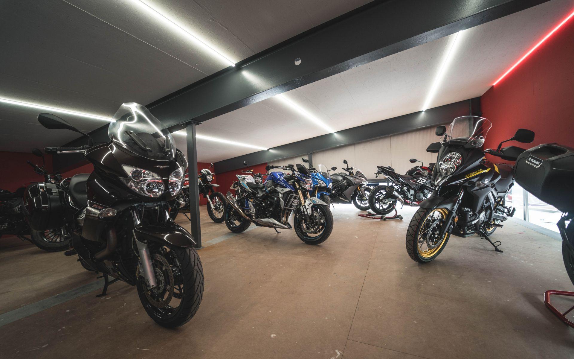 Secteurs motos